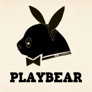 panda on playboy