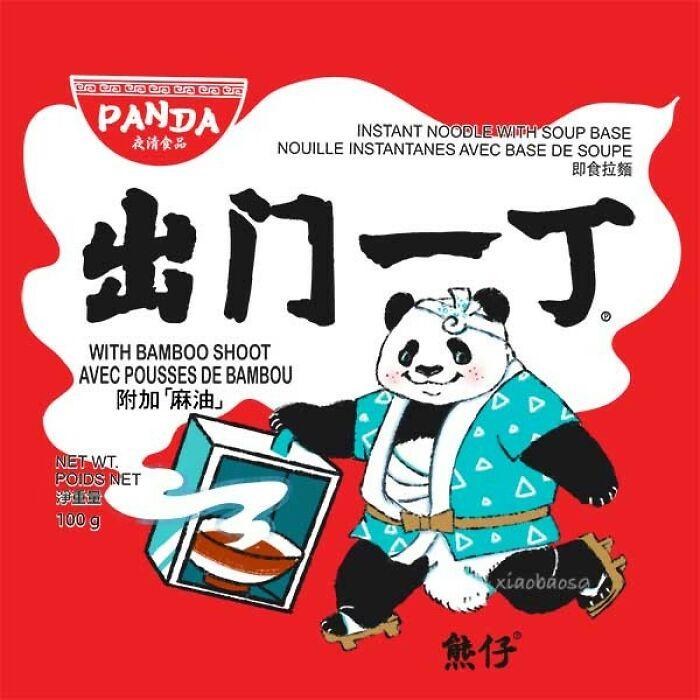 panda logos