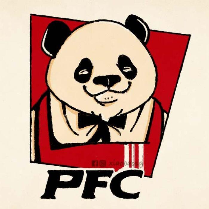 panda on kfc