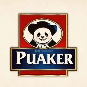 panda on quaker oats