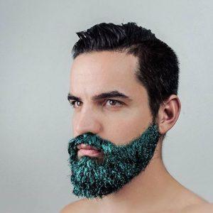 glitter beard challenge