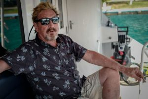 McAfee had to be extradited to the United States