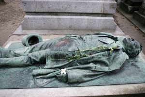 Victor Noir's grave