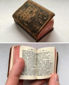 The smallest dictionary.