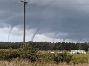 Too many waterspouts caused by La Nina weather pattern