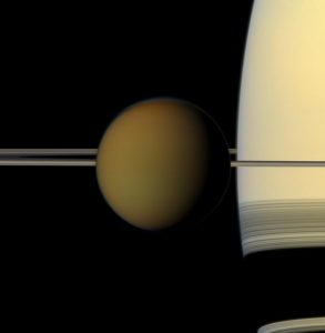 Saturn Has A Moon That Closely Resembles Earth
