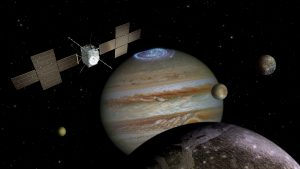 Jupiter Icy Moons Explorer launch contract