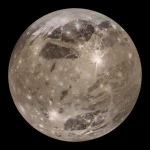 Moon ganymede