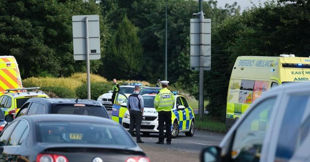 A 4-year-old girl fights for her life after falling from a car onto the busy Grimsby Road.