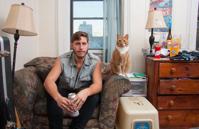 Men Taking Over The 'Cat Lady' Trend In Style