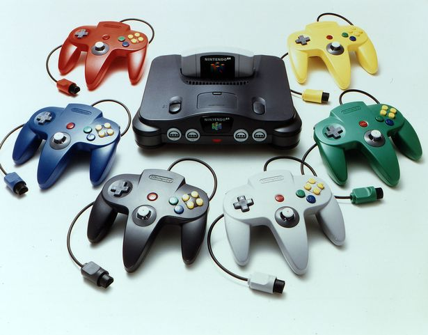 he Nintendo 64 was the first 3D gaming console