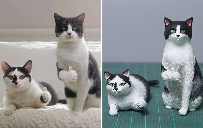 Artist Turns Hilarious Animal Moments Into Sculptures