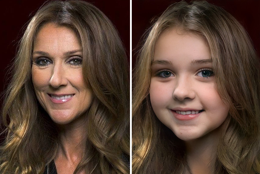 You Can Check How Accurately This A.I. Turns Celebrities Into Kids