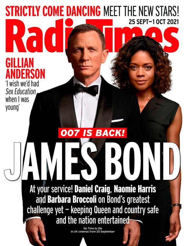 In his last tour as James Bond, Daniel Craig took his uniform off most of the way through.'