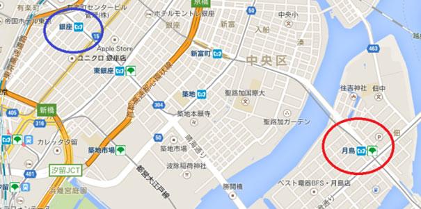 A Patient pet Owner Walks His Big Across The Streets Of Tokyo.