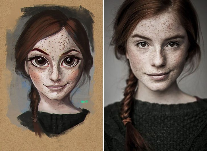 Real People inspire these Incredible Illustrations