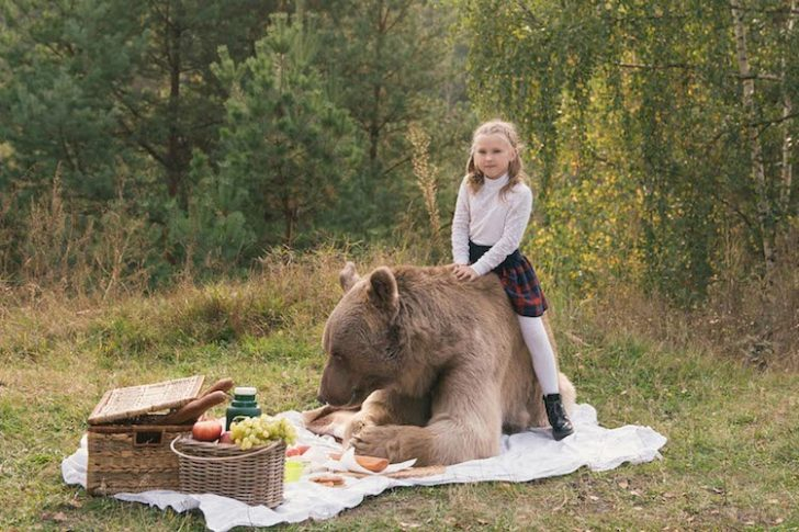 Real Animals Recreate Enchanting Russian Fantasy Tales