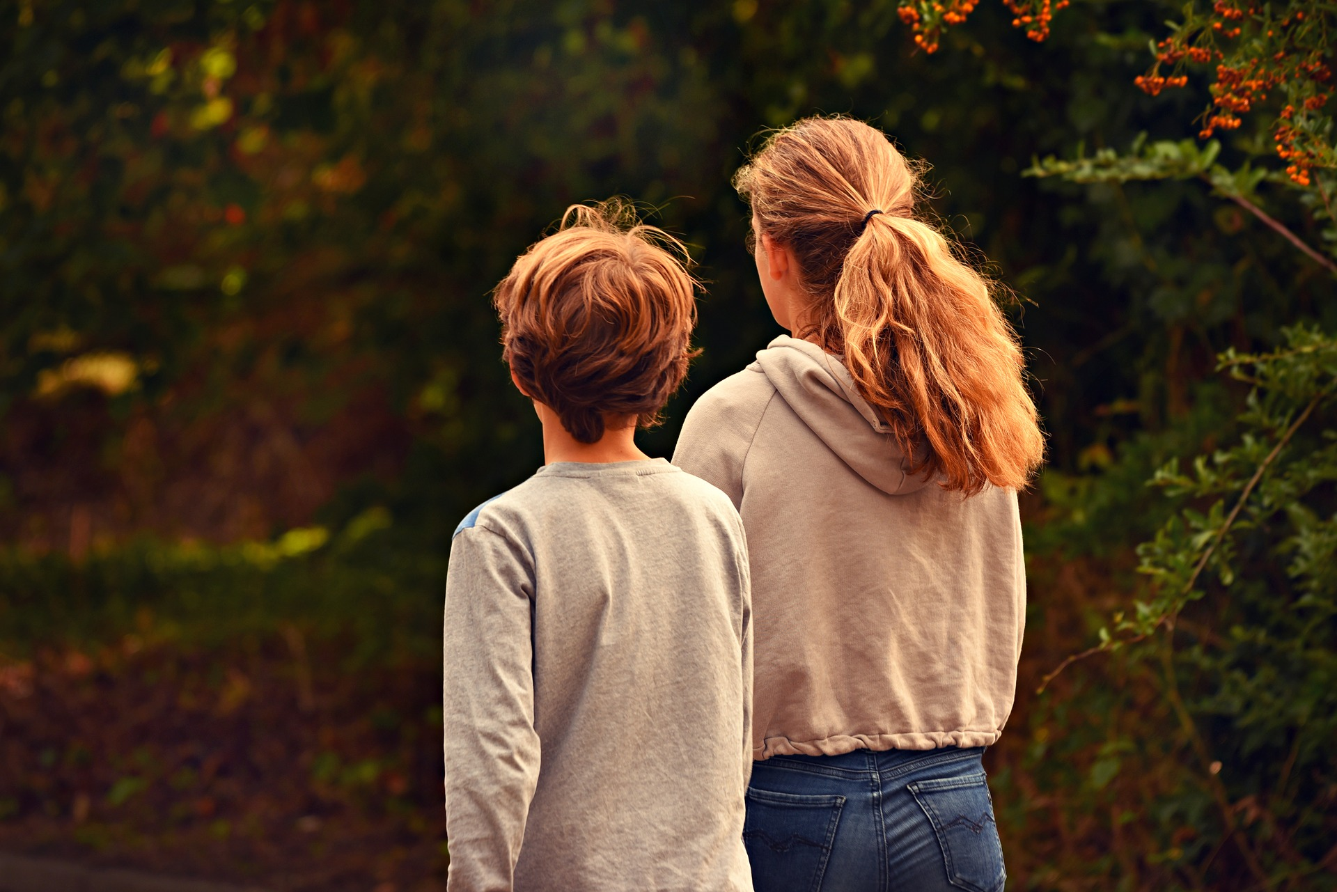 Having a sister as a child makes you a better person.