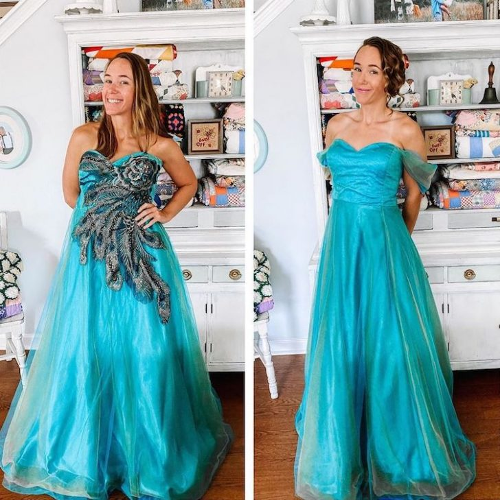 This Woman Turns Thrift Store Finds Into Fashionable Outfits